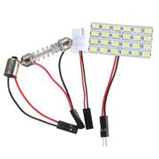 Car Lights & Accessories - Led Bulb - 24smd 5730 Led Light Panel Board Multi-function Car Interior D
