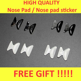 👓👓 [$1.10 only!! + Free Gift ] High Quality Nose Pad Sticker nose support for spectacles glasses