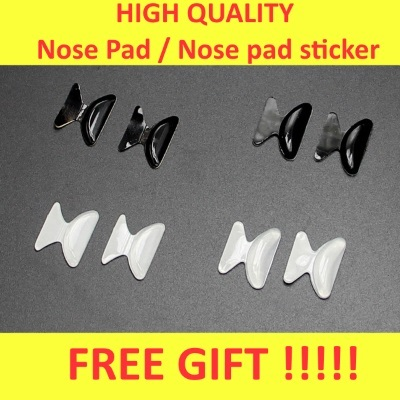 50 Pairs Soft Pvc Nose Pads Case Eyeglasses Sunglasses Accessories Replacement Oval Screw On Nose Pad Tools Quality First Eyewear Accessories
