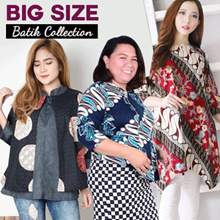 FREE DELIVERY - NEW ARRIVAL- BIG SIZE - BATIK COLLECTION - BLOUSE - DRESS