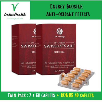 SWISSOATS A111 Natural Dietary Supplements For HIM
