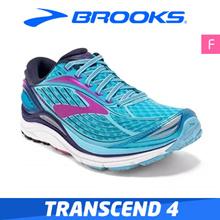 Brooks Women Transcend 4 Performance Running Shoe
