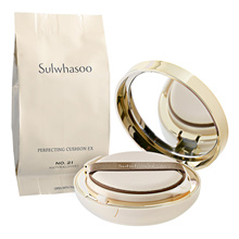 1Pc Sulwhasoo Perfecting Cushion EX SPF50+ / PA+++ 2 x 15g No. 21 Natural (Pink)