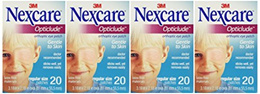 [NEXCARE] Opticlude Orthoptic Eye Patches, Regular Size, 20 Count