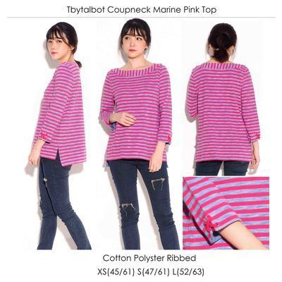 TbyTalbot Coup Marine Pink Top