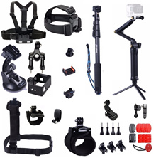 Smatree Bundle Accessories Kit for Gopro and Similar Action Camera