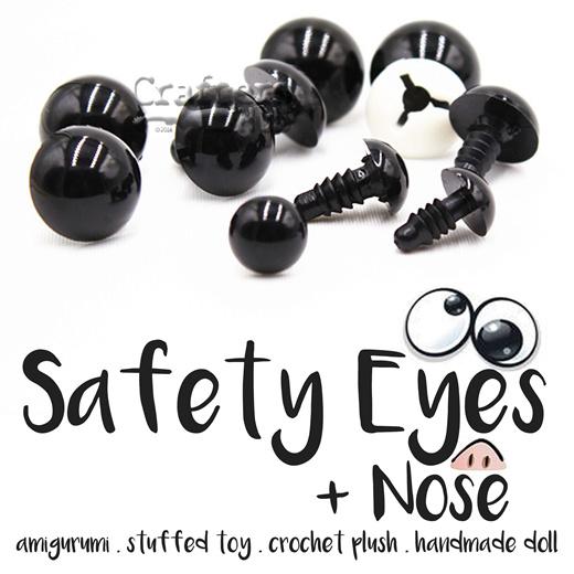 Safety eyes for amigurumi toys | amigurumi and crochet tutorials ... | 520x520