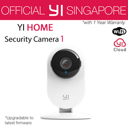 [Official YI Store] XIAOYI YI HOME CAMERA 1 / 1080P HOME CAMERA 1 (International Set)   Night Vision