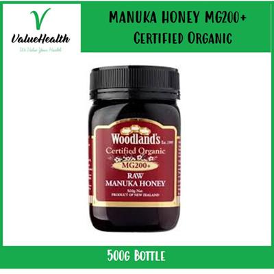 Raw Manuka Honey Organic MG200+ (500g)