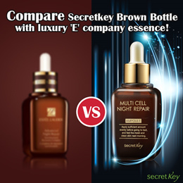 【Secret Key HQ Direct Operation】Multi Cell Night Repair Ampoule 50ml / Intensive Recovery Ampoule
