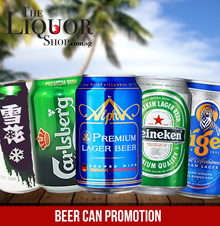 USE QOO10 COUPON TO SAVE MORE-CARTON BEER CAN/SNOW/ALPHA/CARLSBERG/HEINEKEN/TIGER
