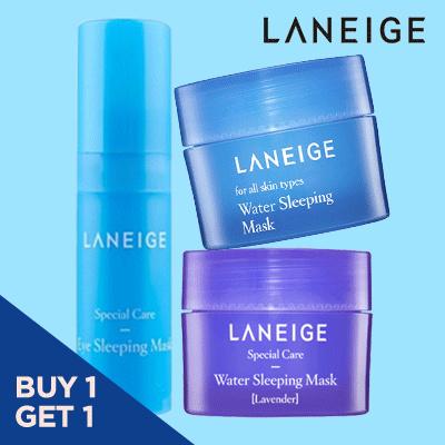 Buy 1 Get 1 Eye Sleeping Mask Kit 5ml Plus Sleeping Mask Kit 15ml/Sleeping Mask Lavender Kit 15ml Deals for only Rp53.900 instead of Rp74.861