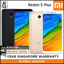 Xiaomi Redmi 5 PLUS 4/64GB / Dark Grey / Gold / 1 Year Local Warranty