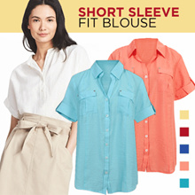 NEW!Branded Slim Fit Blouse Casual 6 colors super comfortable material_available size S-XL / kemeja wanita blouse wanita office look casual blouse pakaian wanita