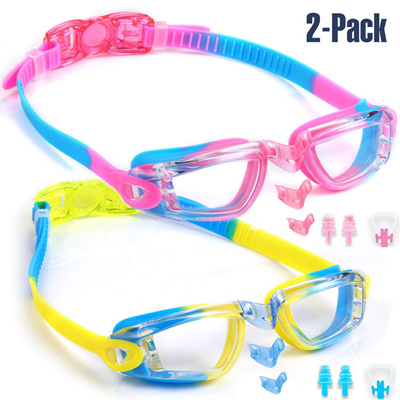 4477cabdc05b Qoo10 - Noorlee Kids Swim Goggles