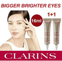1+1 OFFER NEW! Clarins Defining Eye Lift For Puffy Eyes And Wrinkles 8mlx2 16ml