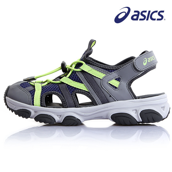 the best attitude best quality reputable site Asics KD 601 111618702-5089 Kids sandals ... - Qoo10