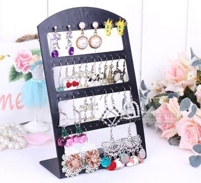 2018 New Fashionable Stereo Type Earrings Ear Studs Show Display Rack Convenient Jewelry Holder Organizer Showcase Rack For Gift Making Things Convenient For The People Tools & Accessories