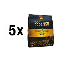 [Bundle Pack] Super ESSENSO MG Coffee 2in1x5 +Double Wall Glass Cupx2