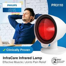 Philips InfraCare Infrared Lamp PR3110  (Effective Muscle / Joints Pain Relief) Clinically Proven