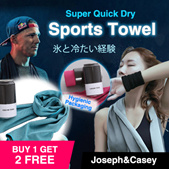 Creative Cans Cooling Sports Towel/For GYM/For Sports/ For Exercise