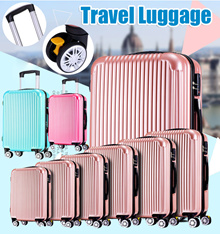 Travel On Road Luggage Cover Protector Suitcase Cover Elastic Fabric Protective Cover Spandex