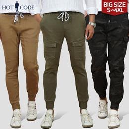 [HOTCODE]Premium 6Type Mens jogger pants / span / big size / casual / cargo / cotton