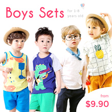 CupKidsLove❤6 June New❤ Boy and Girls Sets/PJ/Kids Pyjamas ❤1Y-8Y❤2018 New Arrival❤