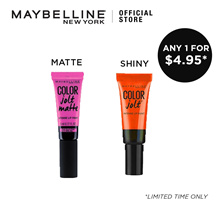 Maybelline Lips Studio Color Jolt Shiny and Matte - 16 Shades