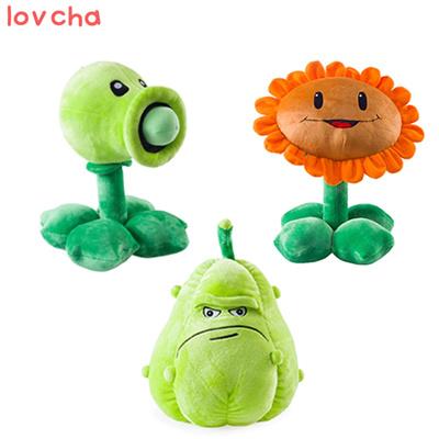 1 PCS 30cm Kawaii Plants vs Zombies Plush Toys Pea Shooter Sunflower Squash  Soft Stuffed Toys Doll K