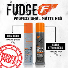 [AUTHENTIC] Fudge Pro Matte Hed Texturised Wax Paste Hold Factor 13 Strong Hold 85g / Roughman 100ml
