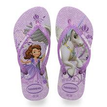 Havaianas Kids Slim Princess Sofia Sandal Purple/Lavender