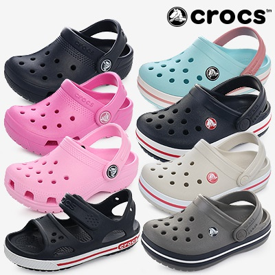 Qoo10 - Crocs ® Kids Slipper / Sandal