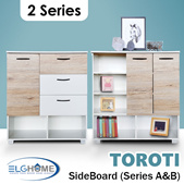 【TOROTI】Sideboard Series A and B/Multi-Function Cabinet/Chest of Drawer/Shoes Cabinet/Space Saver