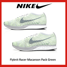 018e3dfe2b6cb Quick View Window OpenWishAdd to Cart. NIKE rate new. Nike Flyknit Racer  Macaroon Pack Green ...
