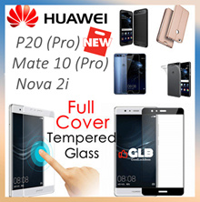 Huawei P20 Pro♥P20♥Mate 10♥Pro♥P10|P10 Plus♥Nova 2i♥Mate 9♥P9♥Tempered Glass♥Casing♥Full Cover