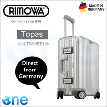 [Topas] CABIN MULTIWHEEL® IATA Luggage | Direct Ship From Germany | 100% Authentic | 5 Years International Warranty | Silver/Gold/Black