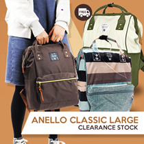 ANELLO LARGE CLASSIC TERMURAH!FREE SHIPPING!UNISEX CASUAL BACKPACK_BEST SELLER in JAPAN*BEST QUALITY