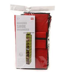 HSO 10grid merah gantung storage sepatu hanging shoes bag HOM SJA232736273723 SJ0048 k002