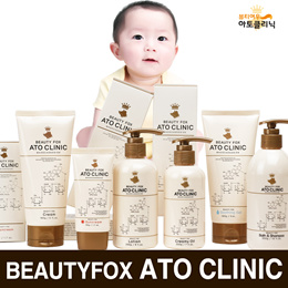 ★Over 1K Reviews! ★[BEAUTYFOX] ATOCLINIC BABY LOTION / CREAM / BATH&SHAMPOO / SOOTHING BALM /