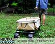 【365日出荷可能商品】 NEUTRAL OUTDOOR ニュートラルアウトドア 折りたたみ式オフロードキャリーカート。 NT-CW01  レジャー アウトドア ピクニック キャンプ