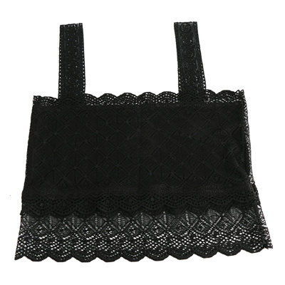 03c33987d4926 1 PC Sexy Lady Womens Stretch Strap Lace Boob Tube Tank Top Bandeau Bra  crop Bustier