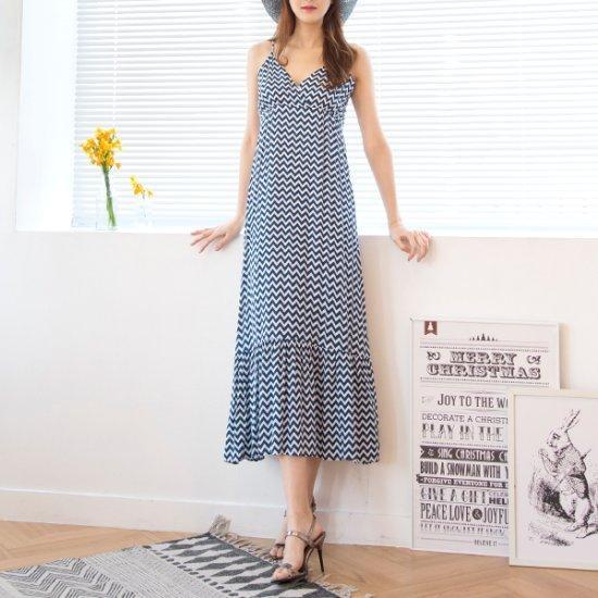 [送料無料]クッキーセブンP4207の波ペプラムビュスチェロングワンピース/シフォン/レースのワンピース/ 韓国ファッション