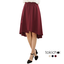 TOKICHOI - Chiffon Hi-Low Skirt-180313