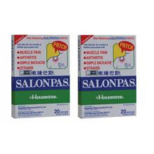 Salonpas Patch 20pcs X 2