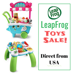 PRE-ORDER SALE! Directly from USA! AUTHENTIC LEAPFROG Products only