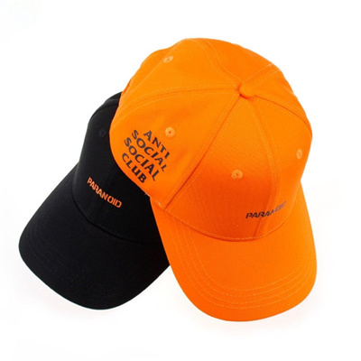 8c72b4db42c63 ASSC Anti Social Club X undefeated joint baseball cap male and female  curved eaves cap Sub