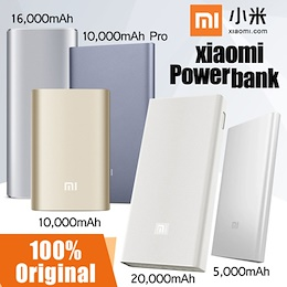 Xiaomi Mi 10000mAh Gen 3 / 20000mAh 2C / 10000mAh Pro Powerbank Battery Charger Wireless Charging