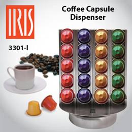 [IRIS] I3301-I ROTARY COFFEE CAPSULE DISPENSER [40 Units]