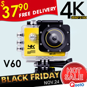 ◎FREE DELIVERY!◎4K WiFi V60 Action Camera Waterproof Car Camera◎Best Seller In SG